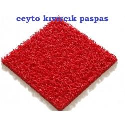 12mm kırmızı kıvırcık paspas